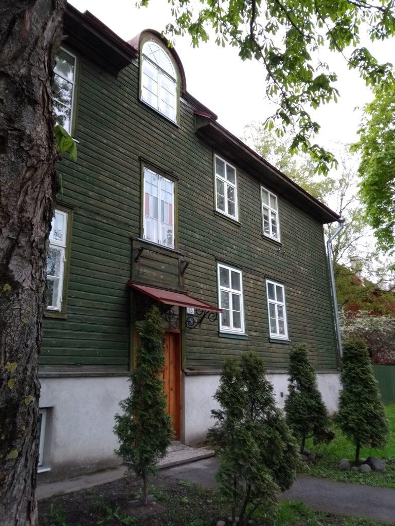 drewniane domki Kalamaja