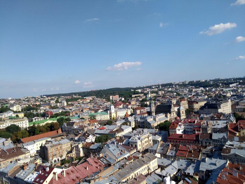 wycieczka dachami Lwowa