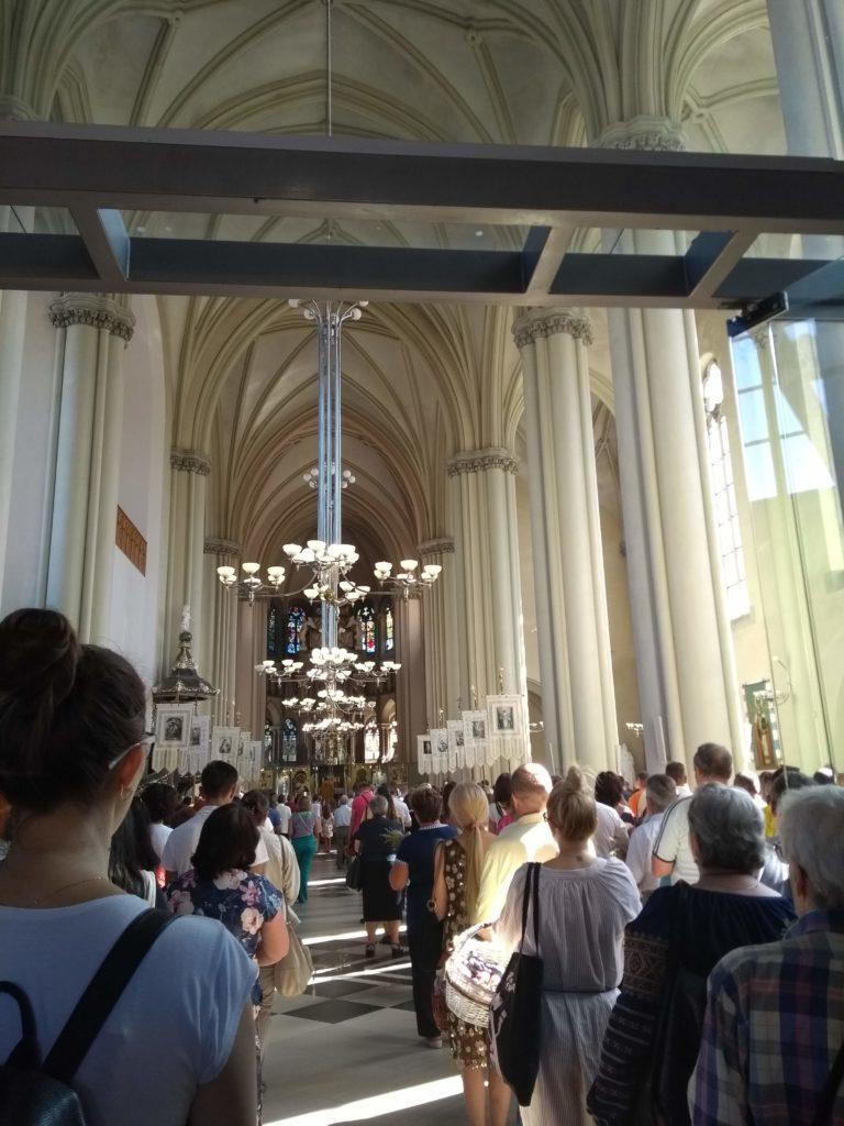 Kościół Św. Elżbiety wieża widokowa