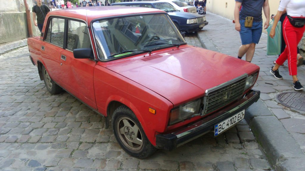 auto we Lwowie