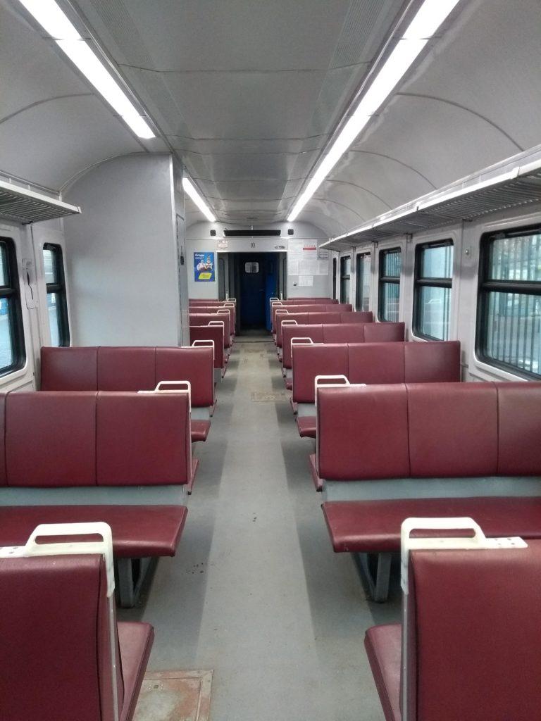 dworzec Odessa-Holovna pociąg do Akerman