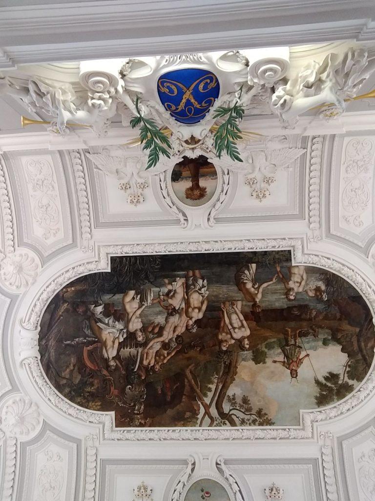 Kadriorg-pałac-fresk
