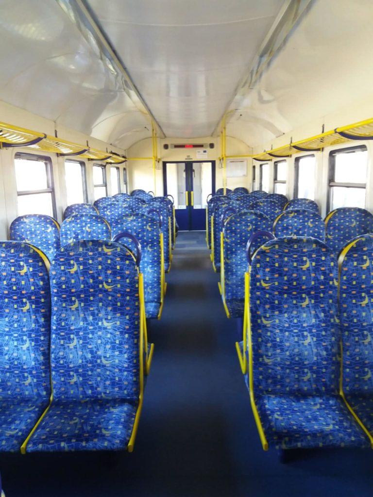 pociąg na Jurmała