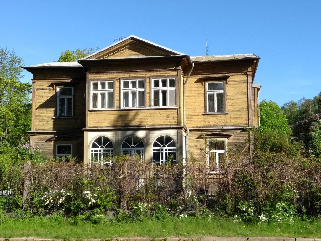 drewniany dom Jurmała