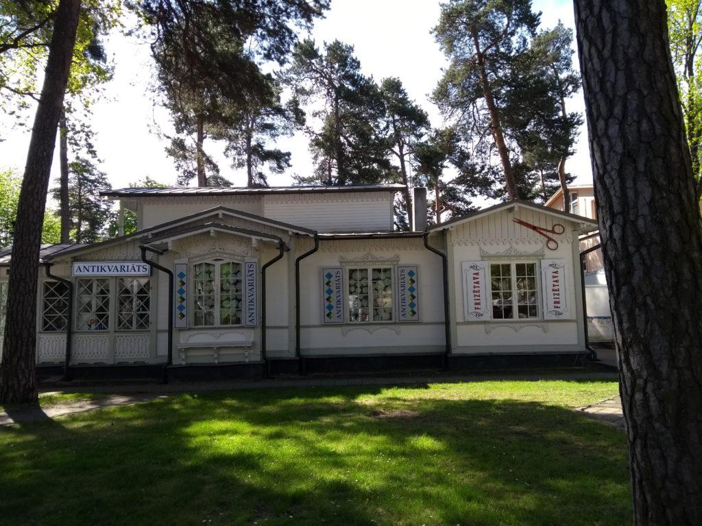 drewniany dom Łotwa