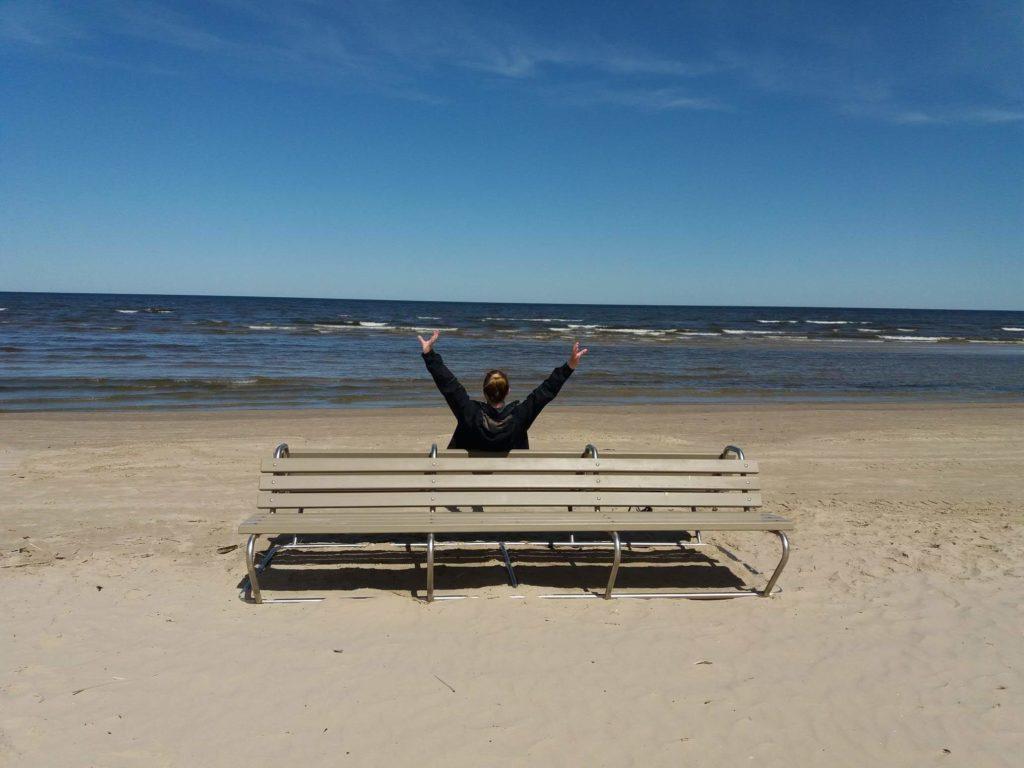 Jurmała plaża