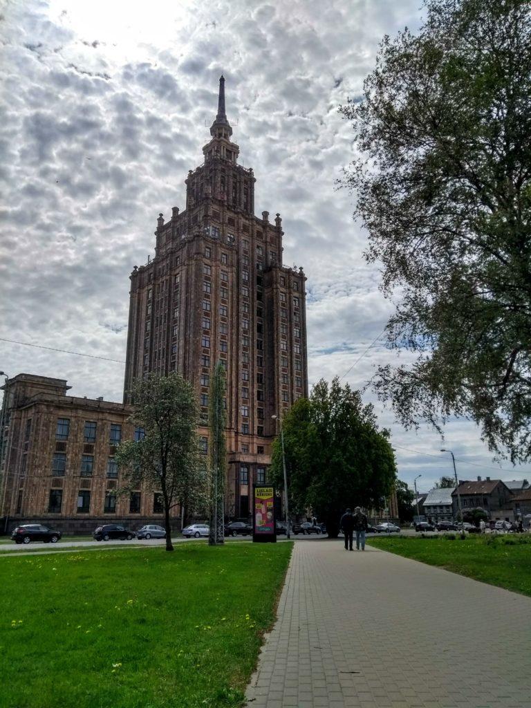 Wieżowiec Akademii Nauk Łotwy